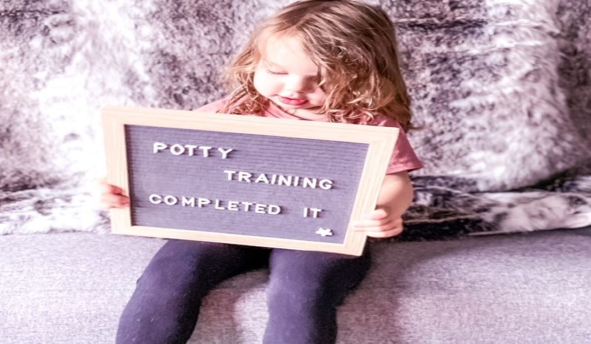 My 1 top tip for effortless Potty Training